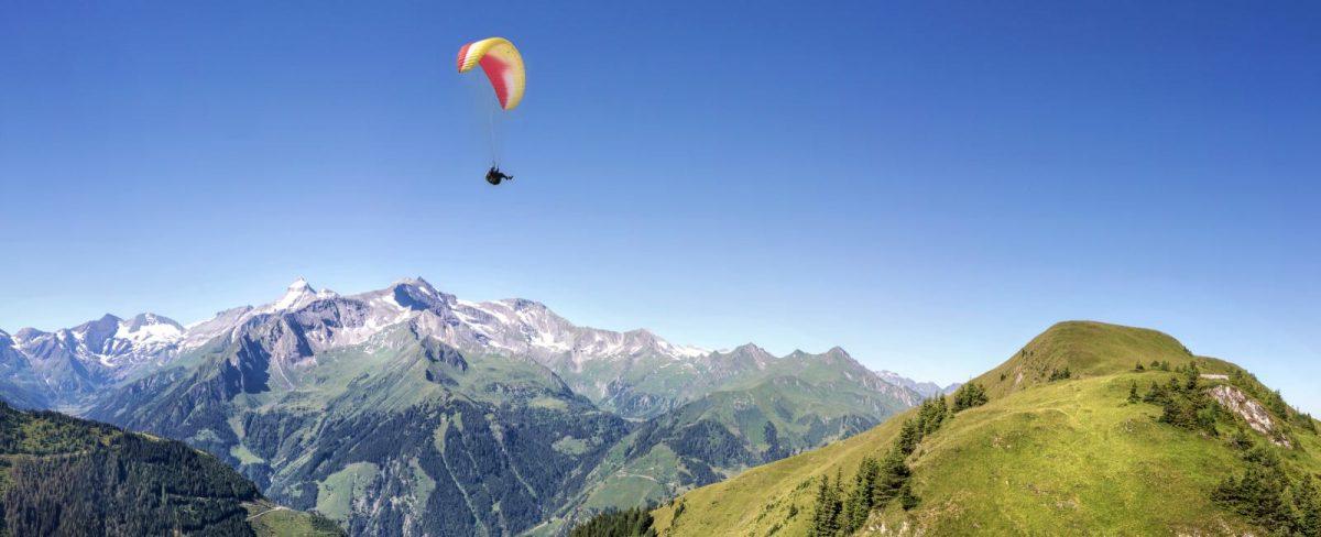 Paragliden in gitschberg-jochtal