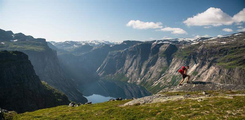 Trolltunga Noorwegen