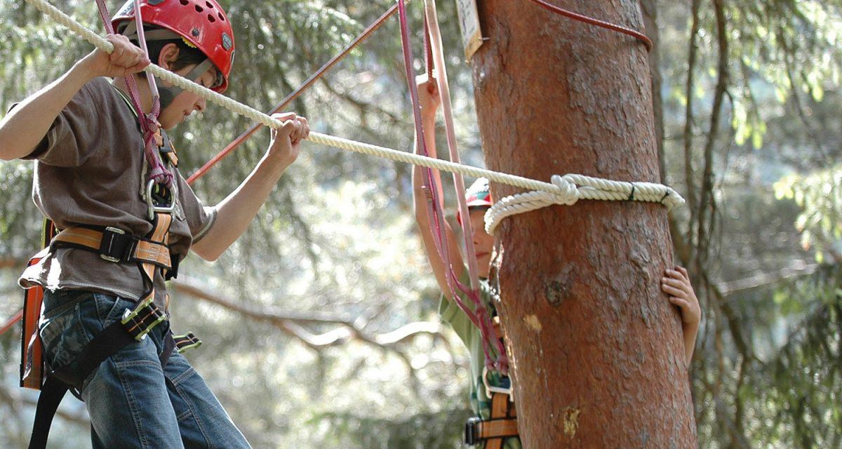 Adventurepark Waldseilpark Fulpmes