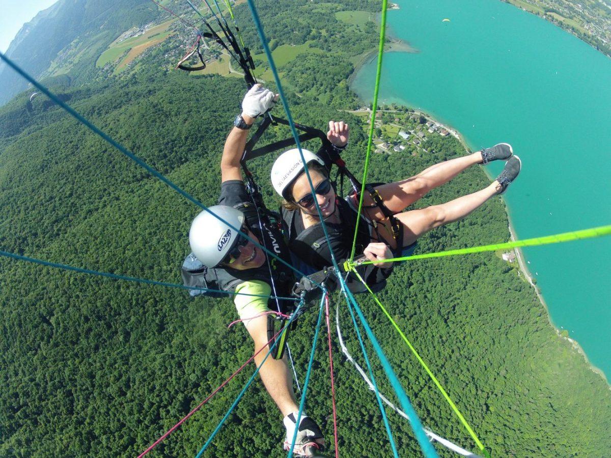 Paragliden Annecy