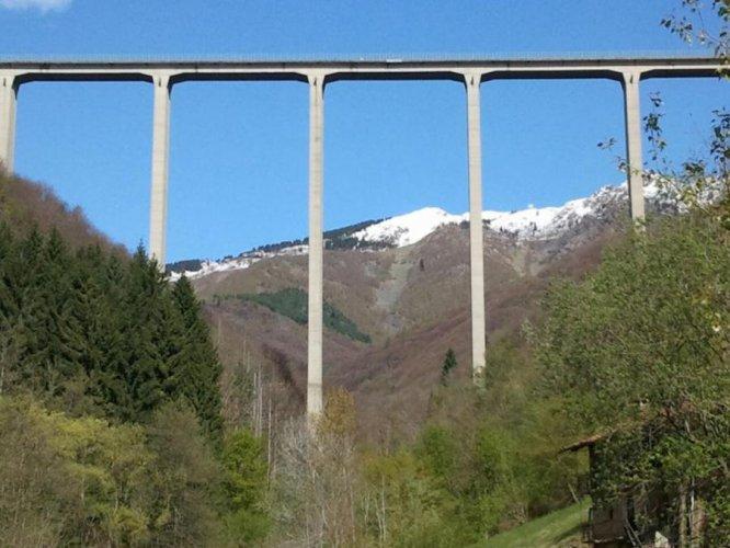 Bungeejumps van Ponte Colossus
