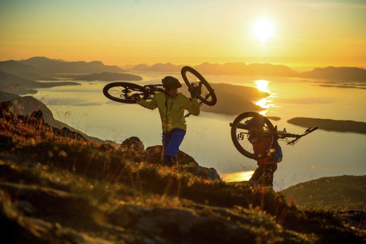 Mountainbiken in Noorwegen