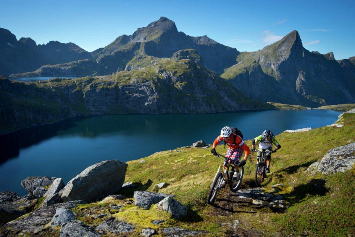 Mountainbike Noorwegen