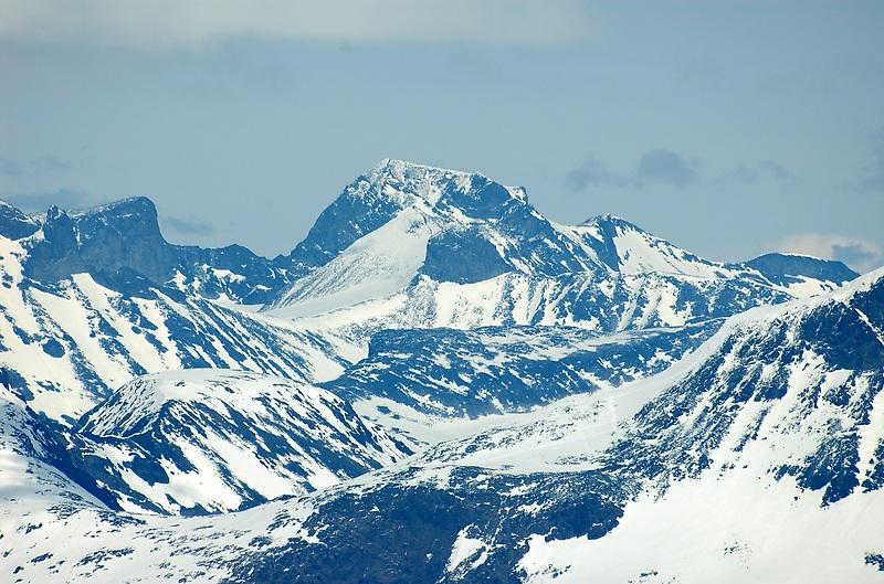 Galdhøpiggen Noorwegen