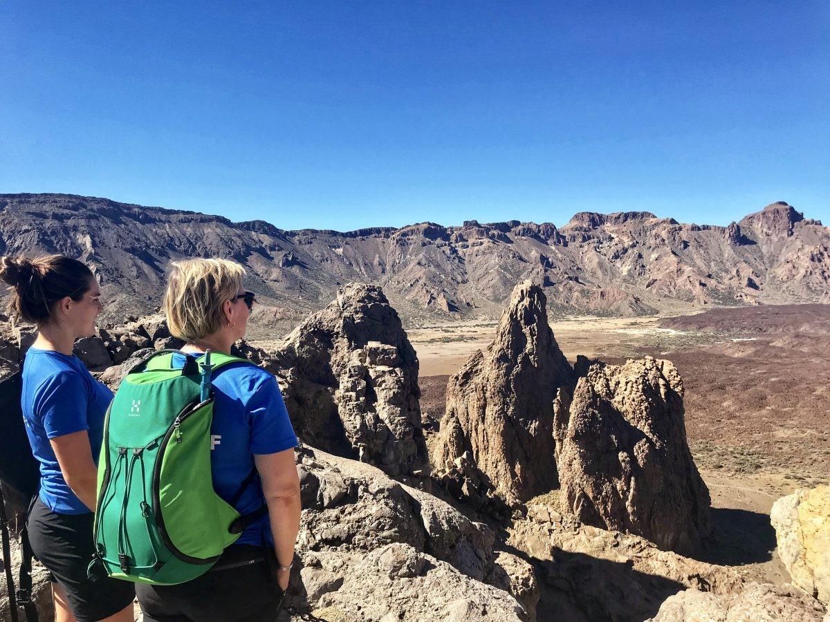 Ook op Tenerife kun je prachtige dayhikes maken. Foto: Pauline van der Waal