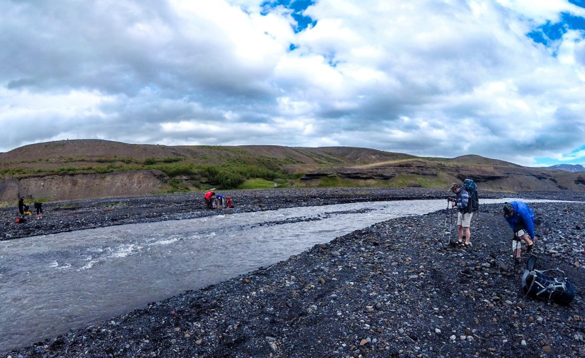 Hiking IJsland