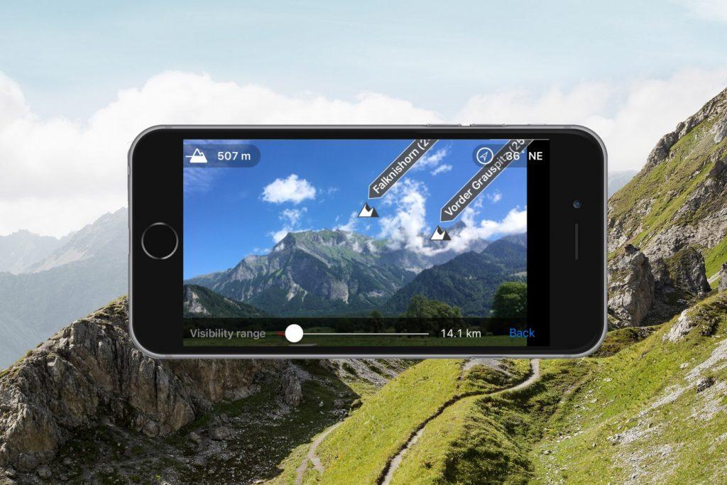 Graubunden App Peak Finder