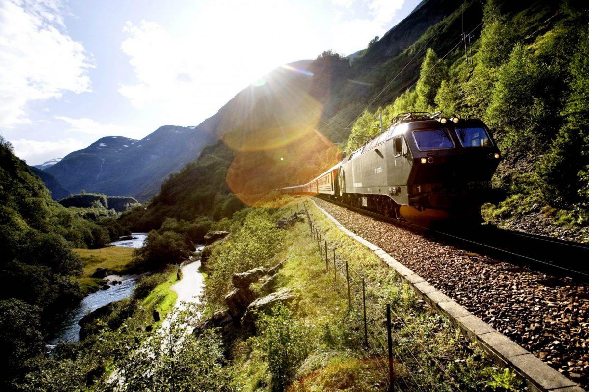noorwegen per trein