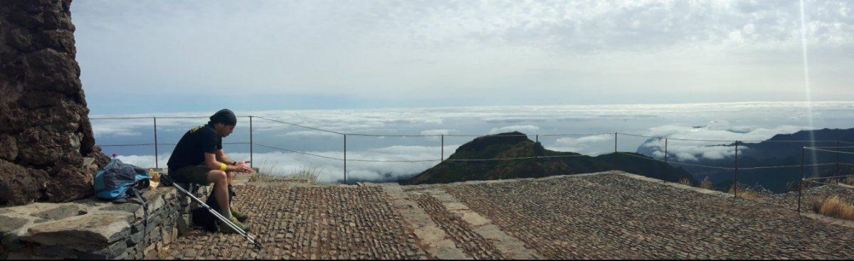 Pico Ruivo hoogste punt Madeira