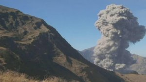 Een dreigende Gunung Agung