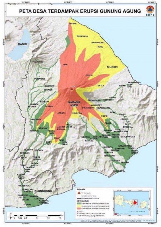 Risicogebied Gunung Agung