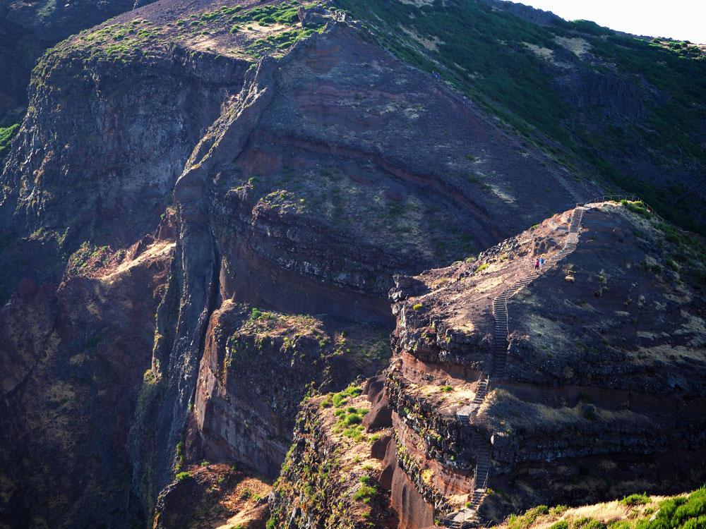 Pico do Arieiro traptreden