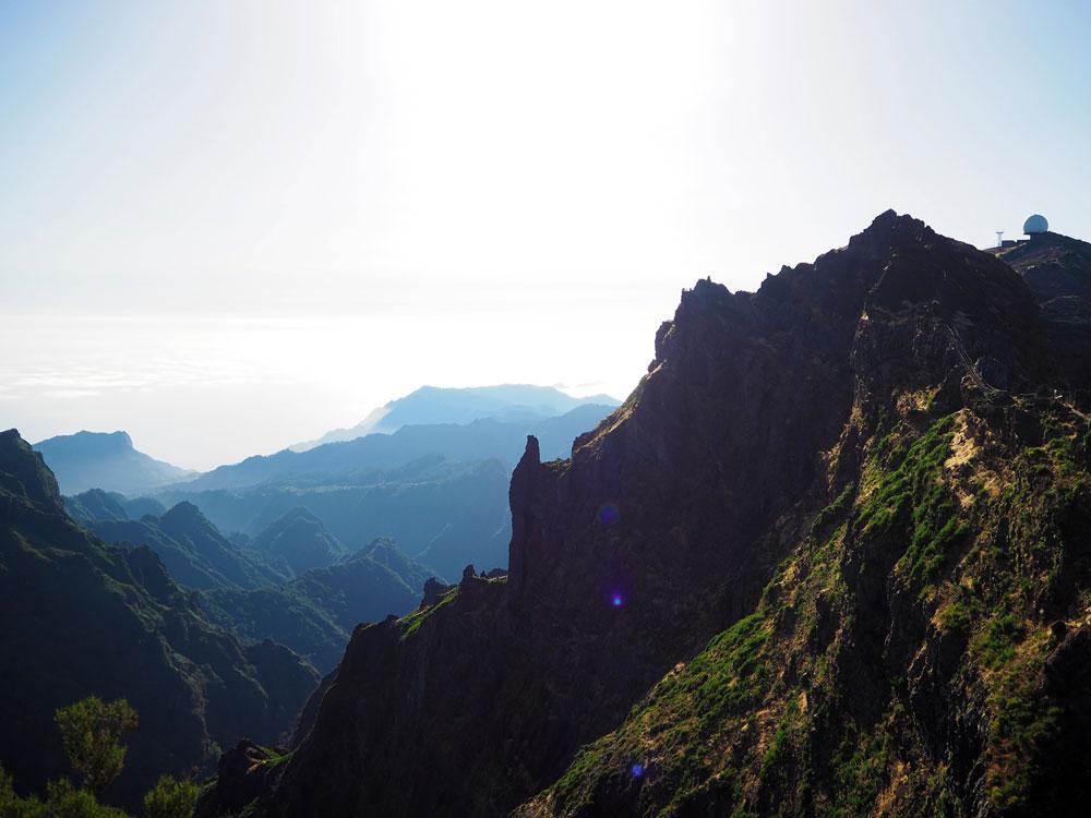 Pico do Arieiro wandelroute bergen