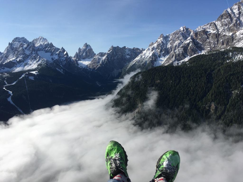 Paragliding Zuid-Tirol Dolomieten Mountainreporters