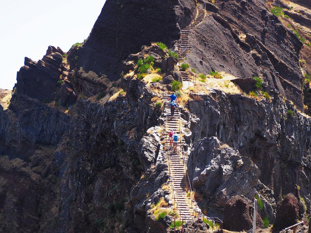 Pico do Arieiro beklimming