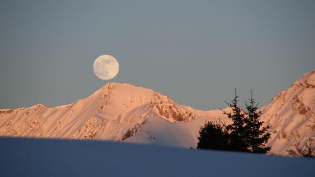 Volle maan in Lumnezia