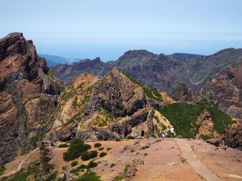Pico do Arieiro wandeling startpunt