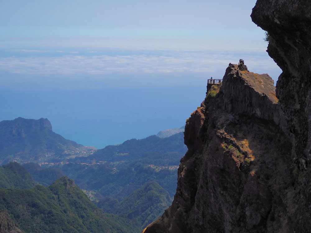 Pico do Arieiro uitkijkpunt