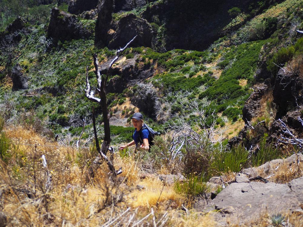 Pico Ruivo berg beklimming