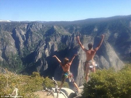 blote beklimming El Capitan