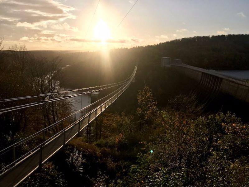 Langste voetgangershangbrug Duitsland