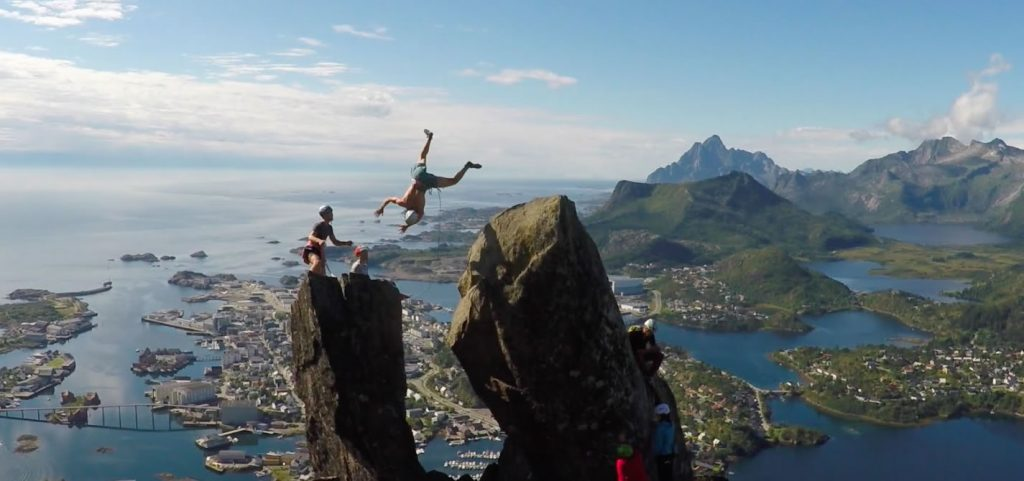 extreme sprongen