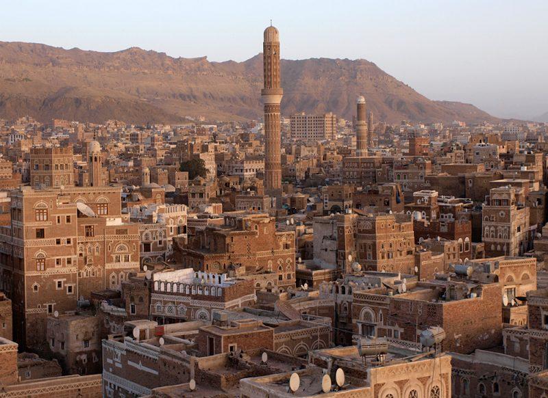 Sana'a oude stad