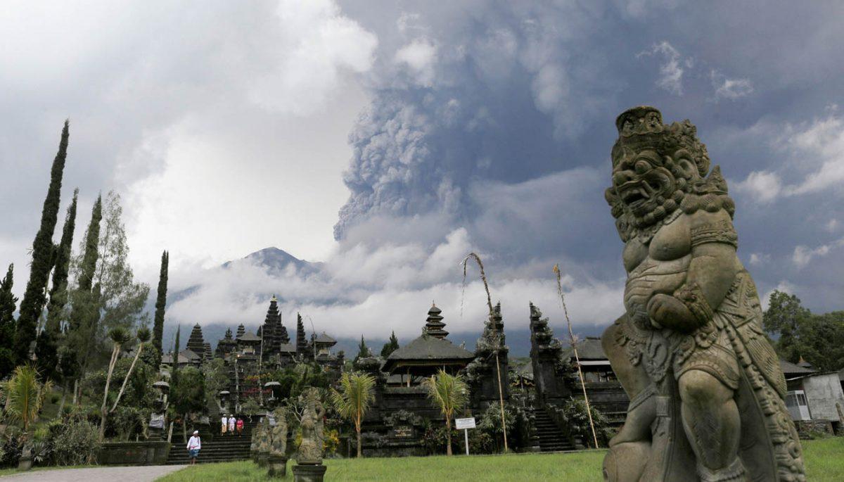 Vulkaan Bali
