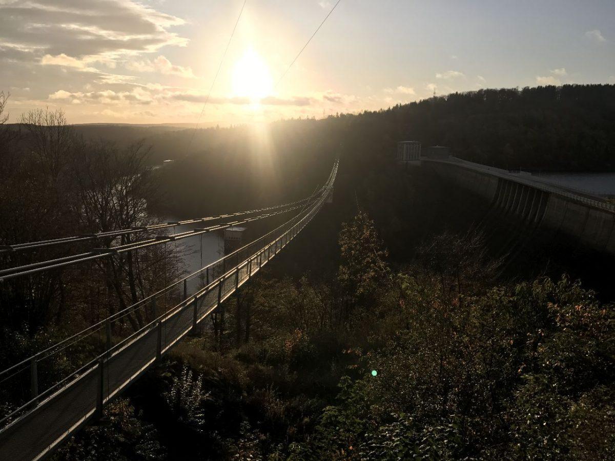Titan-rt, langste voetgangershangbrug Duitsland