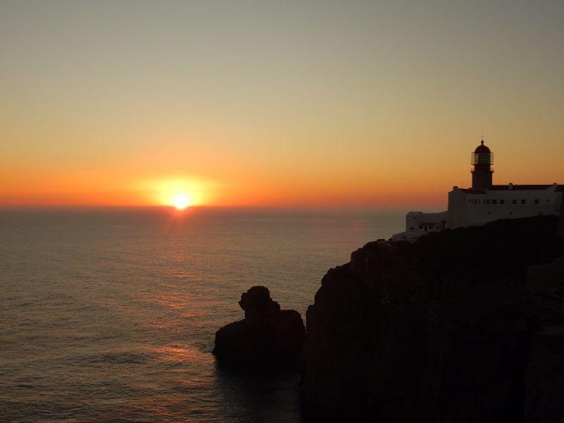 De vuurtoren op Cabo de S