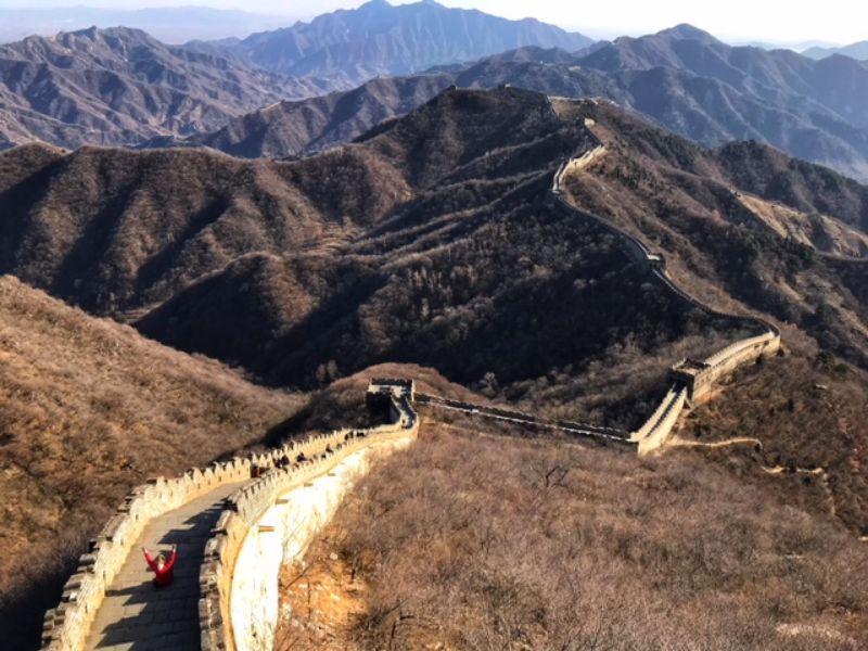 De Great Wall, een unieke tussenstop voor mountainreporters Karin en Ilse
