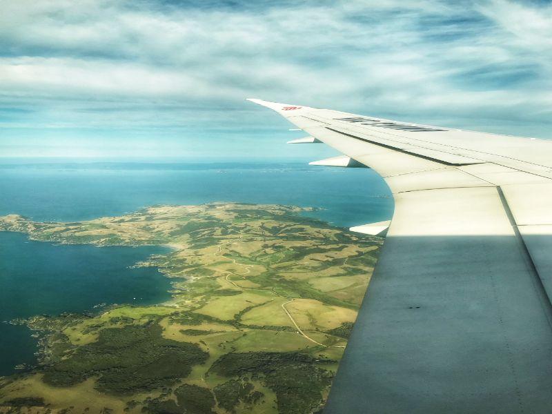 Met Air China naar Auckland
