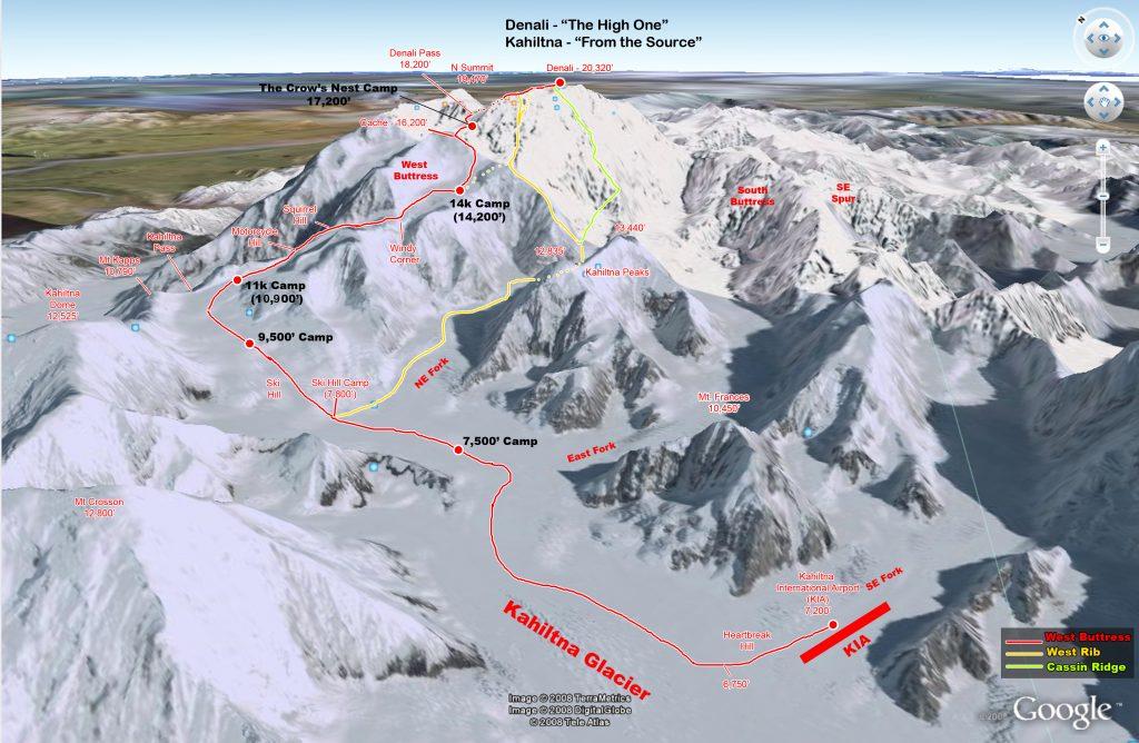Denali routes