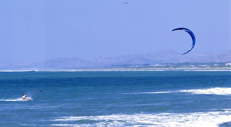 Kitesurfing Peru