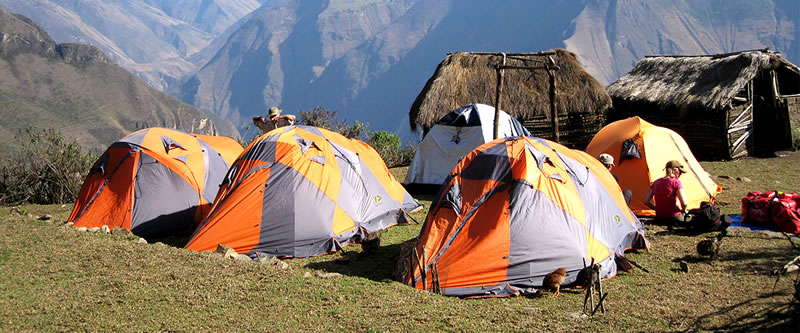 Camping Choquequirao