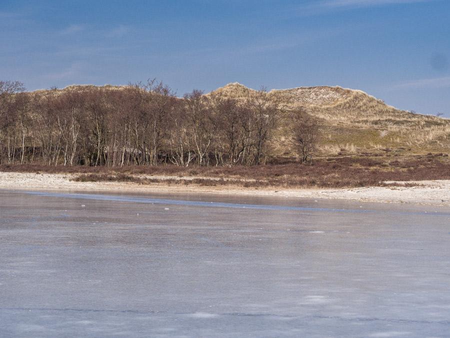 Schaatsen in Noord-Hollandse duinen