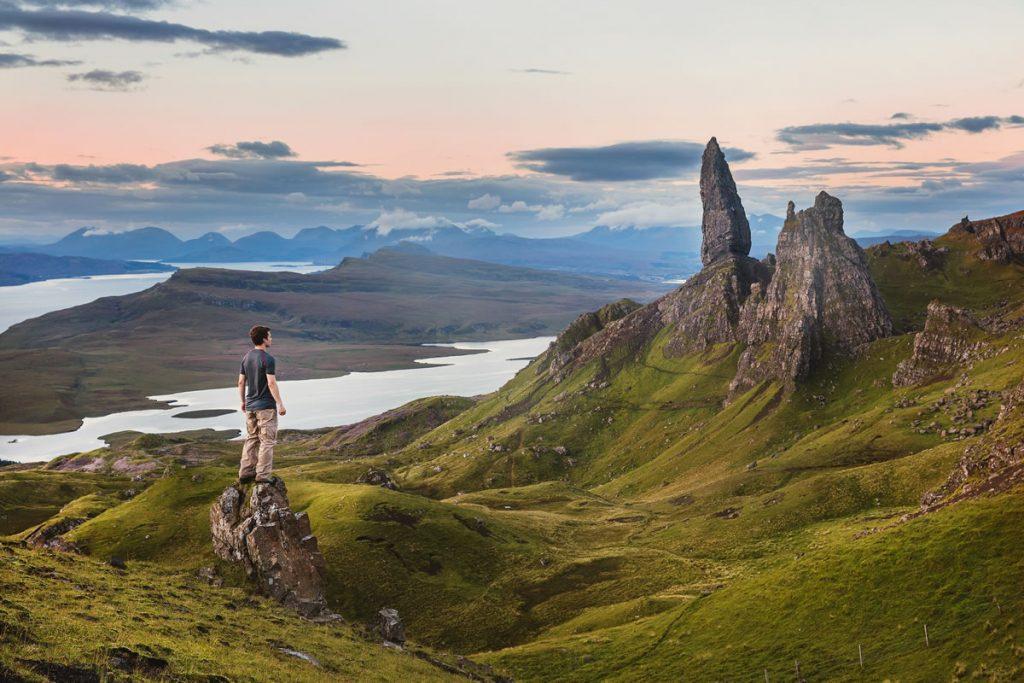 wandelroutes door Schotland