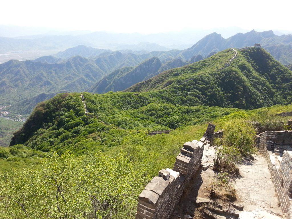 Chinese muur Jiankou