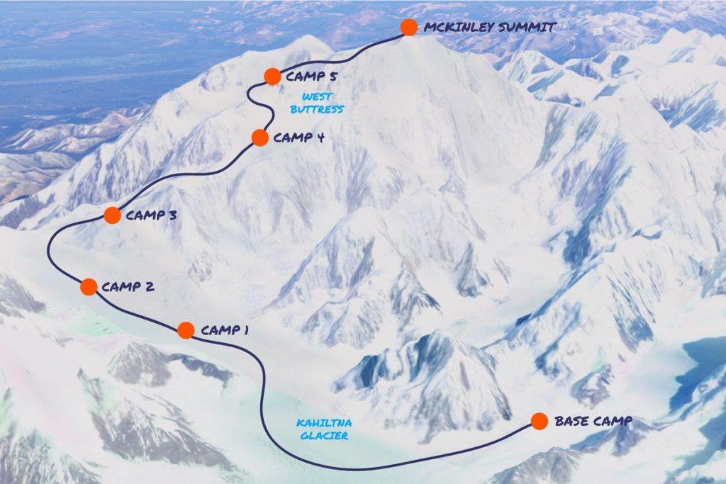 Denali West-Buttress route