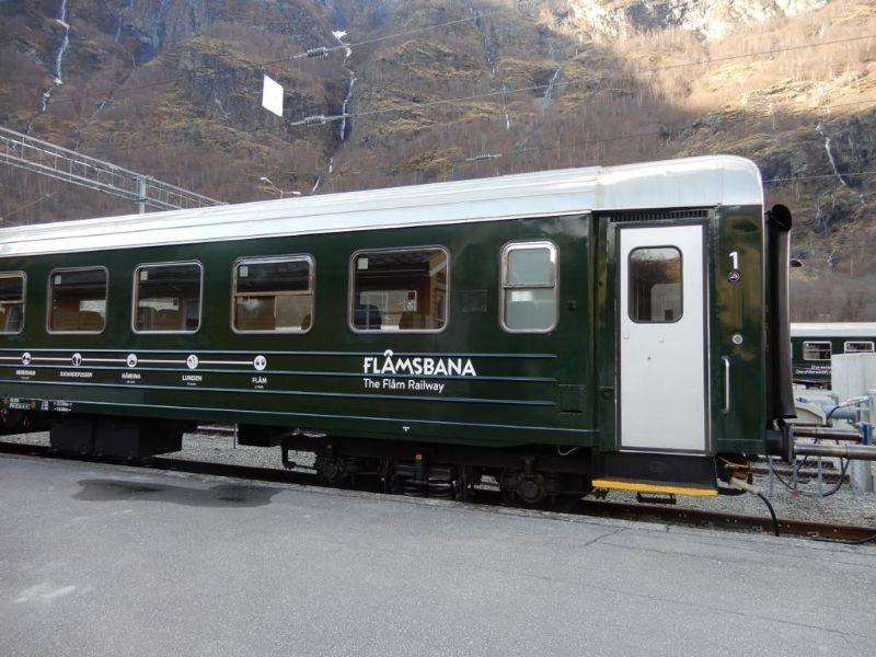 De beroemde trein van Flam