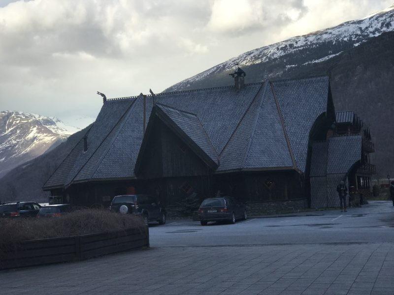 Authentieke vikings restaurant