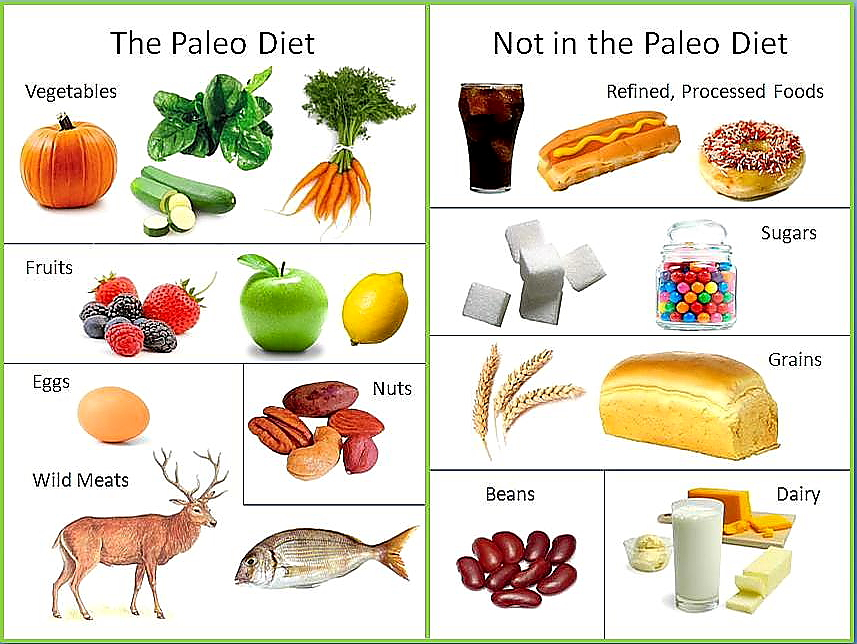 Paleo dieet ©byebyebellyblog.com