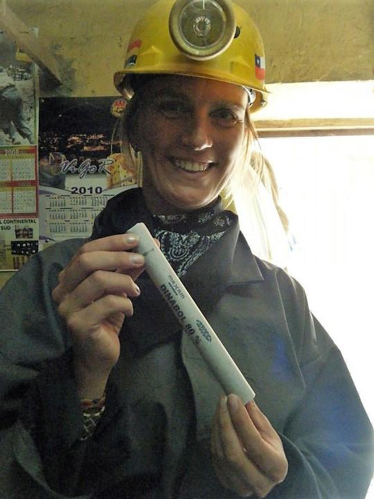 Dynamiet is hier vrij te koop en essentieel voor de mijnwerkers