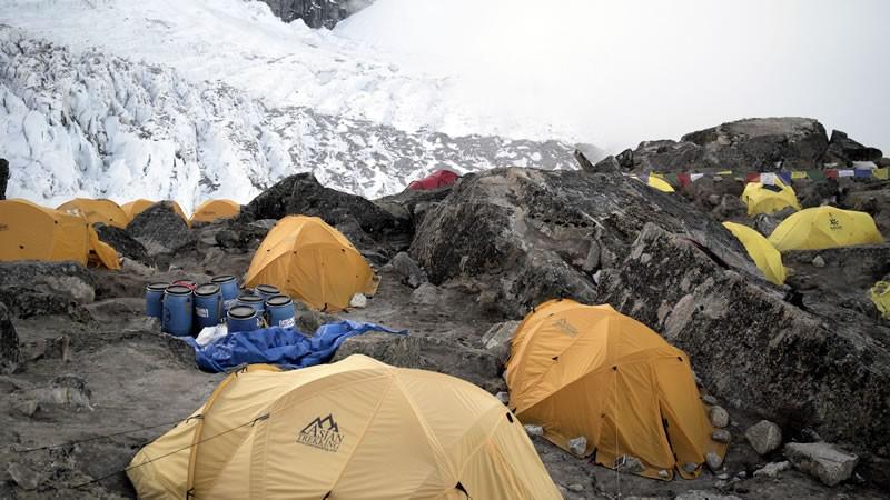 Basecamp Kanchenjunga 2018