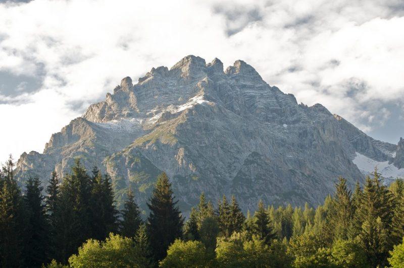 Een prachtig uitzicht op de Birnhorn (2634 meter)