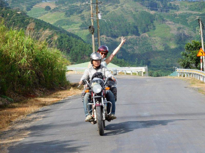 Op de motor door Vietnam is een must!