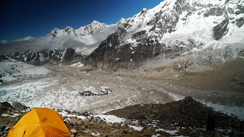 glacier kangchenjunga
