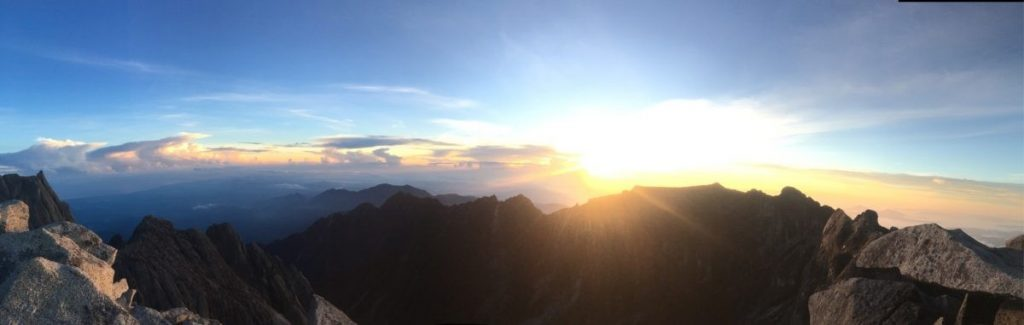 Zonsopgang Mount Kinabalu - Mountainreporters