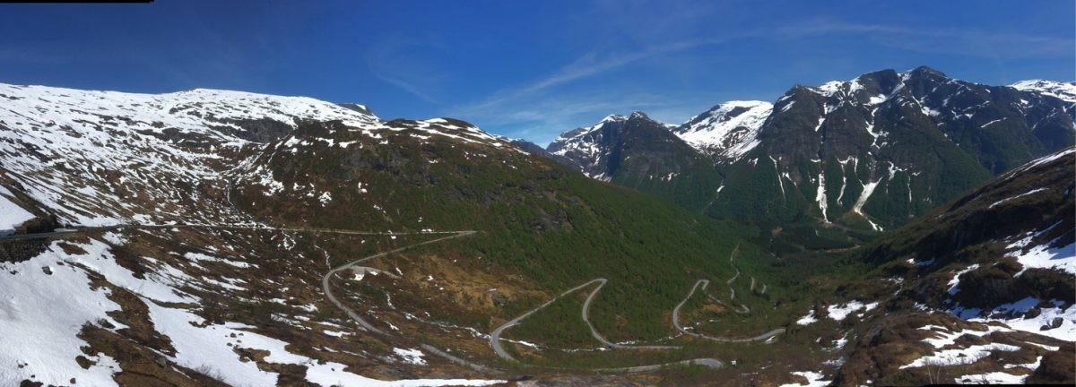 Is Gaularfjellet de Stelvio van Noorwegen?