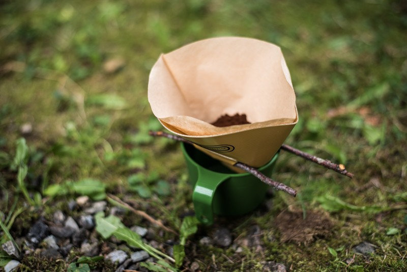 Camping koffie